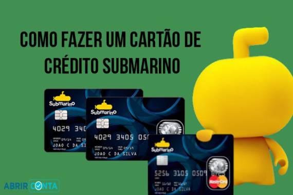 Cartão de Crédito Submarino Como fazer