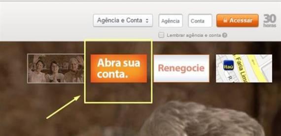 como-abrir-conta-corrente-itau-pela-internet-passo-1