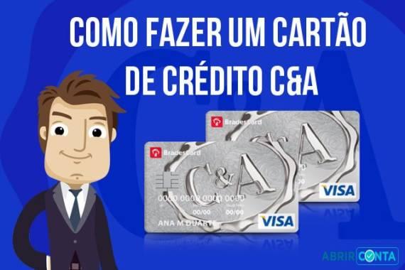 Como Fazer Um Cartao De Credito C A Abrir Conta