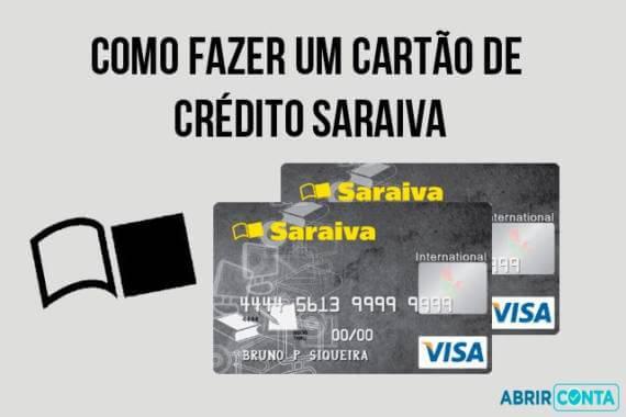 f17691f9b Solicitar Cartão de Crédito Saraiva (Passo a Passo) - Abrir Conta