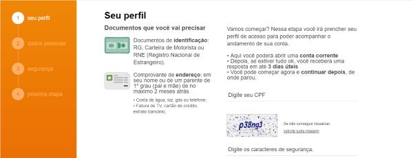 como-abrir-conta-corrente-itau-pela-internet-passo-2