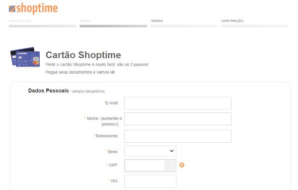 como-fazer-cartao-credito-shoptime-passo-4