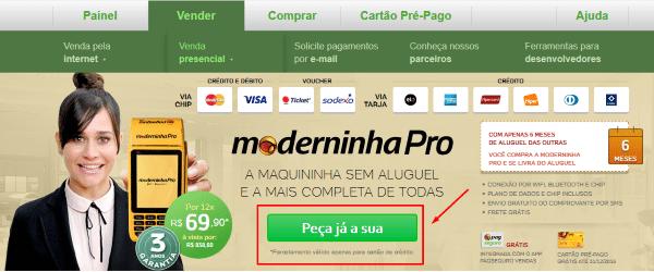 como-pedir-moderinha-pro-pagseguro-passo1