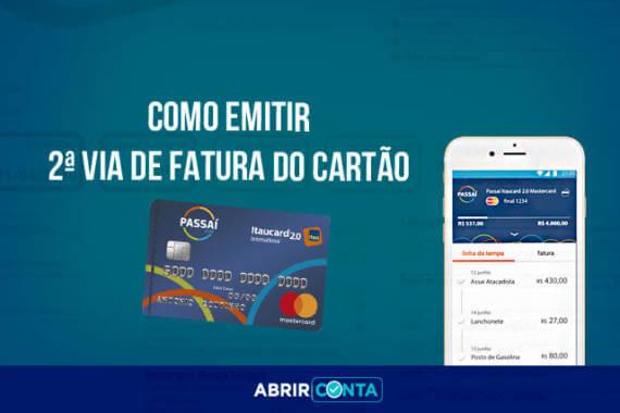 Segunda Via de Fatura do cartão de crédito Passaí - Abrir Conta a74d134e619b1